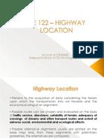 03 CE 122 Highway Location