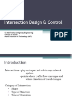 06 CE 122 Intersection Design & Analysis