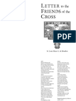 Letter to the Friends of the Cross