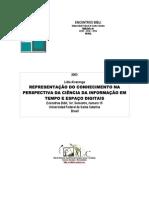 Alvarenga, Lídia. Representação Do Conhecimento Na Perspectiva Da Ciência Da Informação Em Tempo e Espaço Digitais