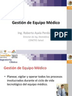 Gestion de Equipo BioMedico