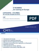CMT - Regulación de Roaming en UE (1)