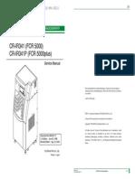 Fuji FCR-500 Service Manual