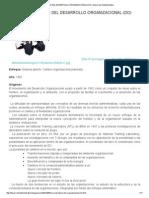 Teoria Del Desarrollo Organizacional (Do) _ Desarrollo Administrativo