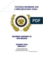 Strategic Planning Handbook 12-2-10