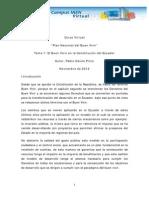 Tema 1 Buen Vivir en La Const Del Ecuador