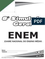 8°Simulado Geral_ENEM_1ºDia