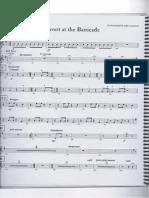 Les Miserables School Edition Percussion Book Part 2