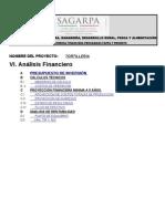 Formato Financiero Tortilleria