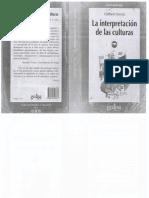 Geertz, C. (1995) La Interpretación de Las Culturas Cap. 1 Descripción Densa