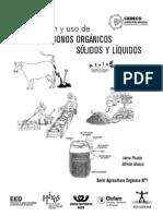Abonos Organicos Liquidos y Solidos
