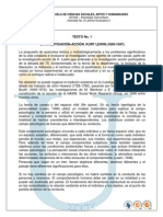 Leccion Evaluativa 2 Psicologia Comunitaria