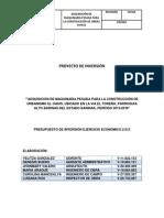 PROYECTO DE INVERSIÓN MAQUINARIA PESADA I.docx