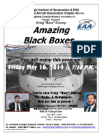 Aviation News Expert & Witness to History Presents Amazing Black Box Program to PIA & EAA