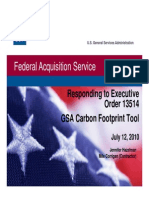 Carbon Footprint Tool