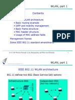WLAN, Part 1 Contents