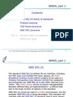 WMAN, Part 1 Contents
