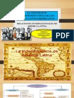 La Transicion Independentista de Los Paises Latinoamericanos