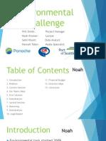 environmental challenge presentation