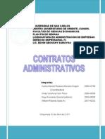 52305627 Exposicion No 5 Contratos Administrativos 1