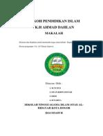 Makalah Ahmad Dahlan 2