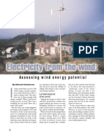 Electricity From the Wind