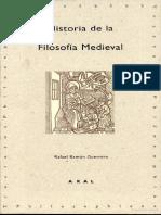 Historia de La Filosofia Medieval (Rafael Ramon Guerrero)