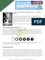 Taller Fotografico DiarioMacquero(I) Apertura y Velocidad