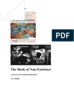 The Book of None-Existance