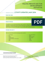 PSDI Country Activity Updates -- May 2014