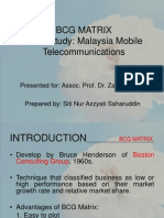 BCG matrix implementation in Malaysia company