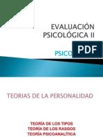 Teorias de La Personalidad (Eval Psic II)