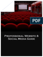 Independent Filmmaker's Guide to Website Branding & Social Media