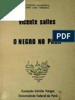 SALLES, Vicente - O Negro No Pará