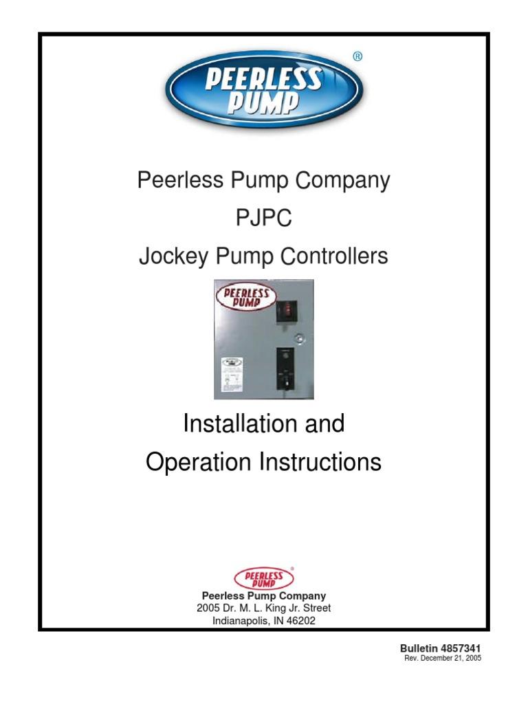 WRG-1757] Jockey Pump Wiring Diagram