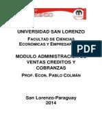 Administracion de Ventas Creditos y Cobranzas Guia