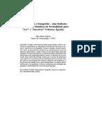 Hermeneutica e Etnografia de Lagrou