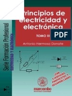 Principios de Electricidad y Electronica - Tomo III