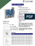 WPA- Propeller Industry Fan