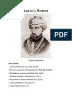 613 Mandamientos Segun Maimonides 130121103750 Phpapp01