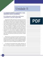 Desenvolvimento Sustentável Unidade II