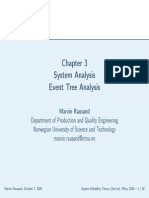 System Analysis_Event Tree Analysis