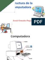 Afiche de las partes de la computadora