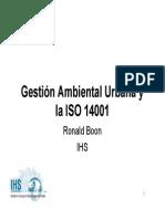 Gestionambientalurb ISO 14000