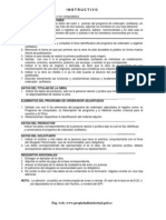 Instructivo de Registro Programas Ordenador Software