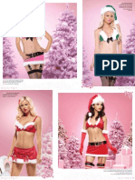 83602 4 PC. Enticing Elf, Includes Lame Plush Trimmed Bikini