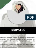 Empatía y Proxemia