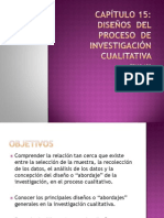 Diseños Del Proceso de Investigación Cualitativa