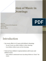 cmd childrens representation of music and no music