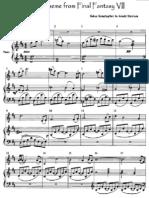 Aeris' Theme (Piano, Violin) FF7